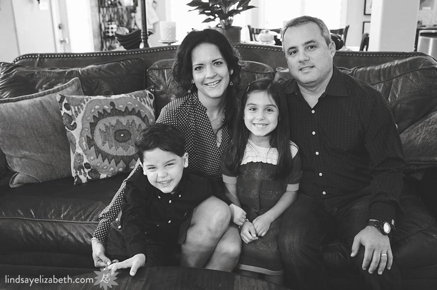 Houston Family Photography | Mike, Maribel, Carmela and Lucas
