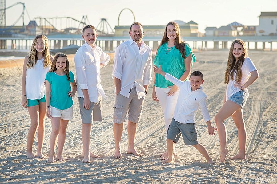 Galveston Family Photographer | The Casey-Lewis Fam