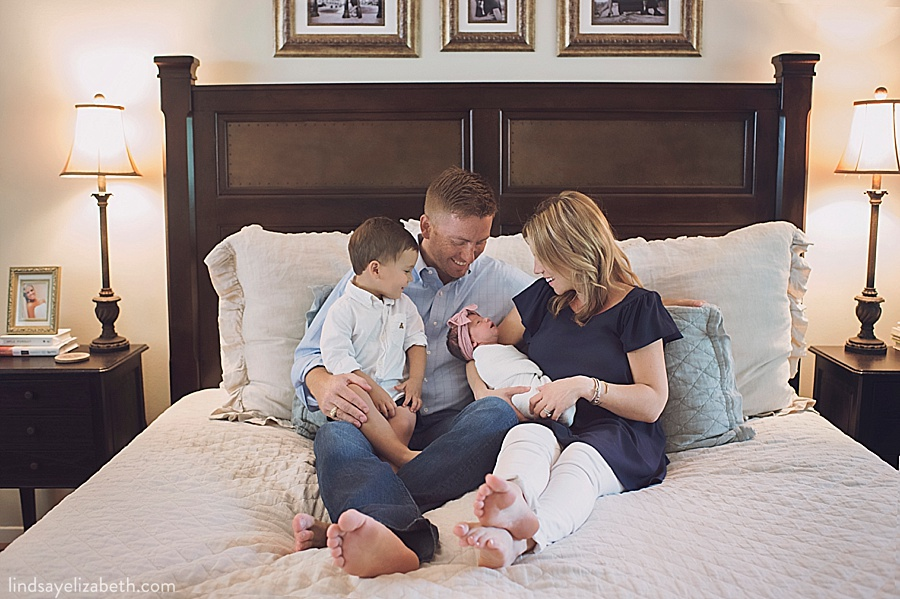 Houston Newborn Photographer | Taylor, Rachel, Cullen, and baby Landry